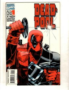 Deadpool # 1 VF Marvel Comic Book Limited Series Issue X-Men X-Force Cable CJ1