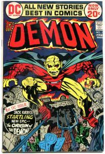 DEMON #1, FN, Jack Kirby, 4th World, 1st Etrigan, 1972, more JK in store