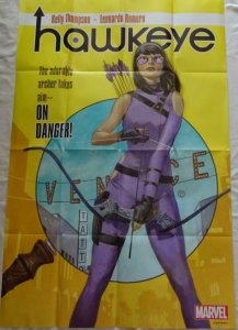 HAWKEYE Promo Poster, 24 x 36, 2016, MARVEL,  Unused more in our store 171