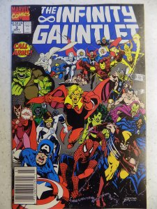 INFINITY GAUNTLET # 3 MARVEL MOVIE WARLOCK THANOS