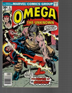 Omega the Unknown #6 (Marvel, 1977)