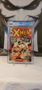 X-Men #7 - CGC 5.5 - 2nd Appearance of The Blob