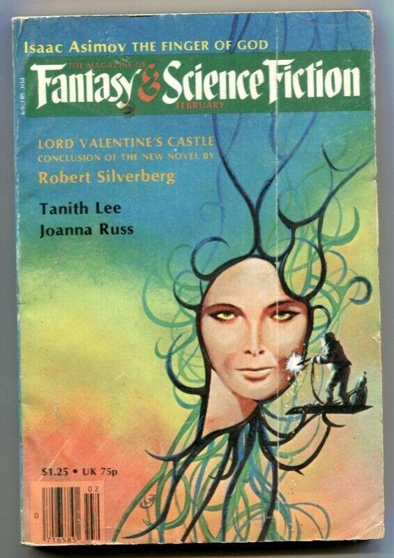 Magazine of Fantasy and Science Fiction February 1980- Asimov