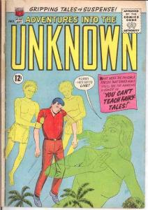 ADVENTURES INTO THE UNKNOWN 143 GOOD COMICS BOOK