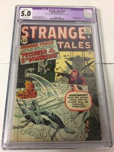 Strange Tales 103 Cgc 5.0 Restored Slight B-1 (easily Removed)