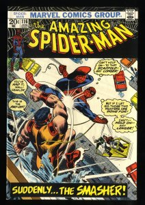 Amazing Spider-Man #116 VF+ 8.5 White Pages