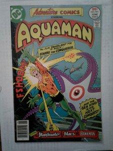 Adventure Comics #451 FN Aquaman Sea King