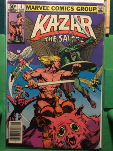 Ka-Zar The Savage #3