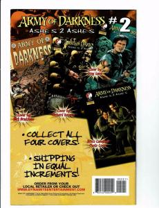 Army Of Darkness # 2 NM Ashes 2 Ashes DDP Dynamite Comic Book Variant Skull J113