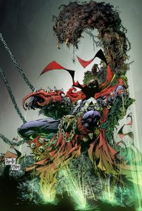 SPAWN #250 FRANK CAPULLO  COVER NEAR MINT.