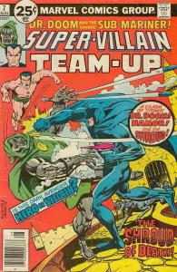 Super-Villain Team-Up #7 FN; Marvel | save on shipping - details inside