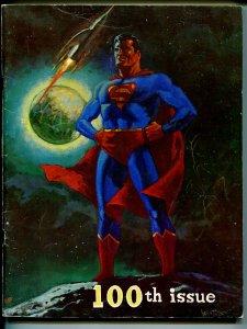 Rockets Blast and Comic Collector #100 1973-Superman-Don Newton-Star Trek-VG