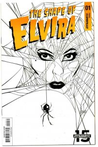 The Shape of ELVIRA #1 G, VF/NM, Dynamite, 2019, more indies in store, Strahm