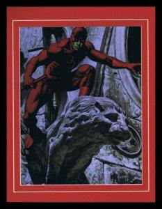 Daredevil Matt Murdock Framed 11x14 Marvel Masterpieces Poster Display