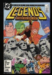 Legends #3 NM 9.4 1st Suicide Squad!