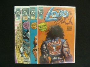 Lobo's Back #1-4 Miniseries Complete Set Run DC Comics NM Condition
