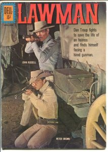 Lawman #11 1962-Dell Peter Brown & John Russell-TV series photo cover-VG