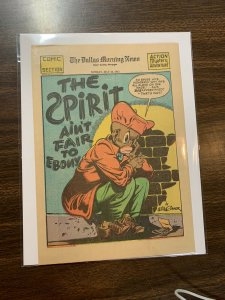 The Spirit Comic Book Section Newspaper Very Fine Or Better 1943 May 30