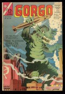 GORGO #21 1964-CHARLTON COMICS-SUBMARINE COVER-MONSTER FN