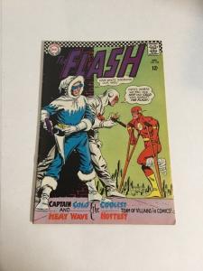 Flash 166 Vf+ Very Fine+ 8.5 Silver Age