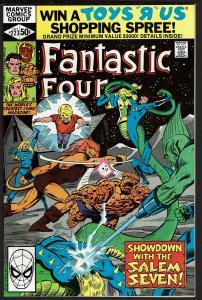 Fantastic Four #223 (Oct 1980, Marvel) 7.5 VF-