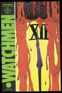 WATCHMEN #12 1987-DAVID GIBBONS-ALAN MOORE-DC COMICS VF
