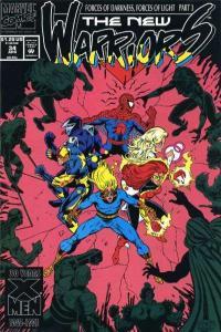 New Warriors (1990 series) #34, VF+ (Stock photo)