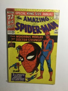 Amazing Spider-Man King Size Annual 2 Gd/Vg Good/Very Good 3.0 Marvel Comics