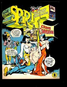 The Spirit # 1 VF Kitchen Sink Enterprises Comic Book Will Eisner Crime Conv NE3
