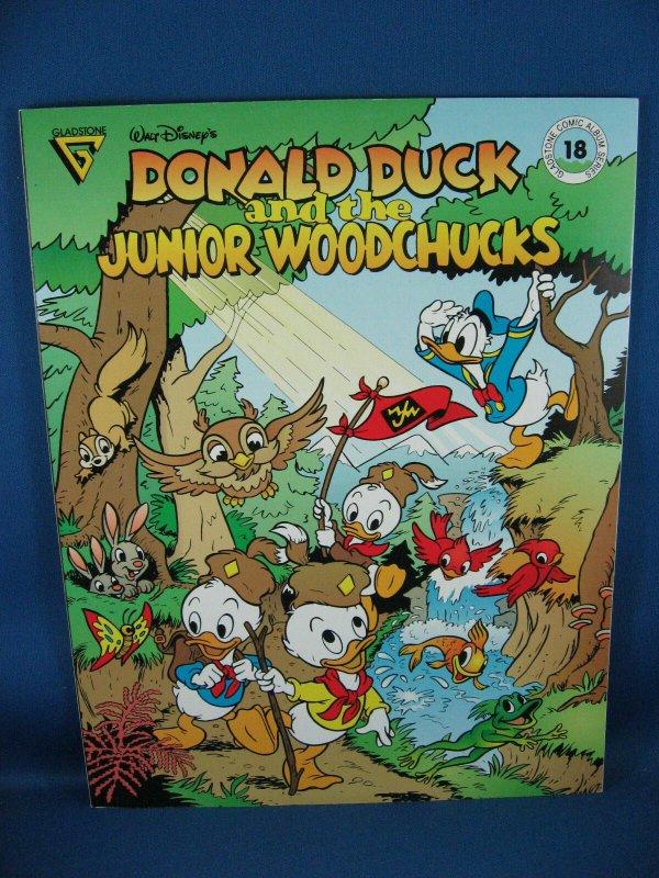 GLADSTONE COMIC ALBUM SERIES 18 NM Barks Junior Woodchucks