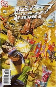DC JUSTICE SOCIETY OF AMERICA (2007 Series) #19 NM