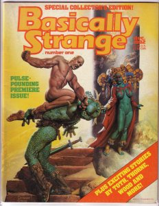 Basically Strange   #1 VG/FN Corben cover, Toth, Thorne, Bruce Jones, Wood
