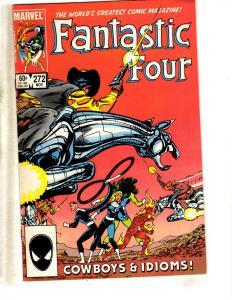 10 Fantastic Four Marvel Comics # 272 273 274 275 276 277 278 279 280 281 RJ1