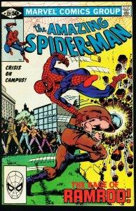 AMAZING SPIDER-MAN #221-1981-MARVEL-very fine VF