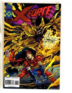 11 X-Force Marvel Comics # 43 44 45 46 47 48 49 51 52 53 54 Deadpool Cable DB7