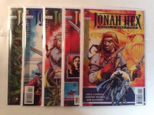 Jonah Hex Riders Of The Worm And Such 1-5 Complete Near Mint Lot Set Run