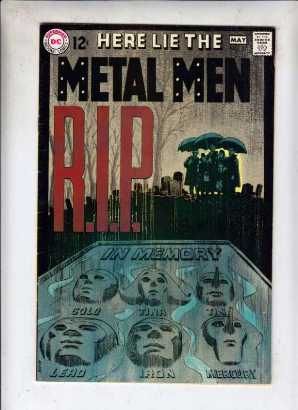 Metal Men #37 (Apr-69) VF/NM High-Grade Metal Men (Led, Tina, Tin, Gold, Merc...