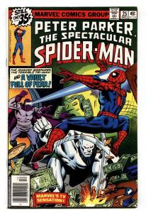 SPECTACULAR SPIDER-MAN #25 comic book 1978- First CARRION NM-