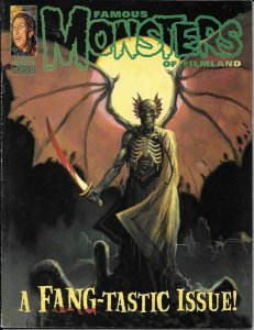 Famous Monsters of Filmland #254 William Stout Cover & Cover A NM.