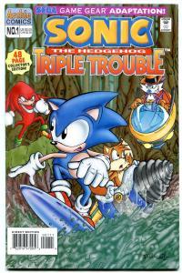 Sonic the Hedgehog Triple Trouble Special #1 1995- Archie Comics