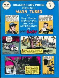 Dragon Lady Press Presents Wash Tubs #3 1986-Rpy Crane-1st Capt Easy-NM