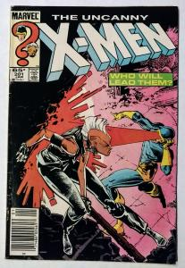 Uncanny X-MEN #201 (1st Baby Cable!!) and #300, Foil cover anniversary!