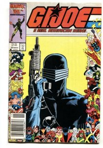 G.I. JOE #53 Newsstand variant 1987 Snake Eyes comic book Marvel