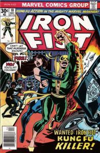 Iron Fist #10 FN; Marvel   save on shipping - details inside