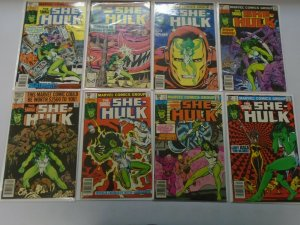 Savage She-Hulk comic lot 16 different from #2-24 average 5.0 VG FN (1980-82)