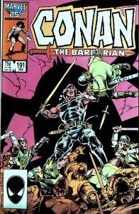 Conan the Barbarian #191 (1987)