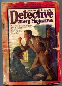 Detective Story Pulp MJanuary 23 1926- Howard Fielding reading copy