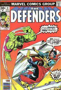 Defenders, The #41 (Nov-76) VF/NM- High-Grade Hulk, Dr. Strange, Valkyre, Nig...