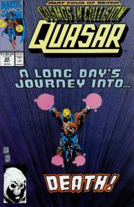 Quasar #22 VF; Marvel | save on shipping - details inside