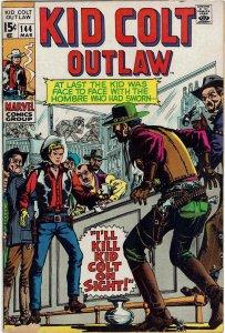 Kid Colt Outlaw #144 VF